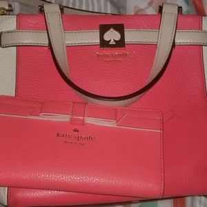 Kate Spade purse with wallet